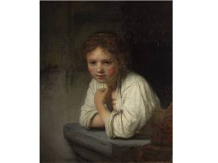 Girl at a Window - Rembrandt