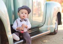 Baby with car @mybabydom