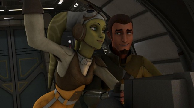 Kanan and Hera - early years